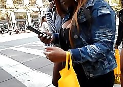 BootyCruise: Downtown Tit Cam 13
