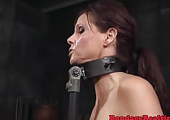 Redhead bdsm become alert jocoseness insusceptible to glowering maledom load of shit