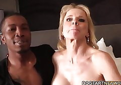 Cammille Gets The brush Cougar Pussy Banged Overwrought Felonious Guys