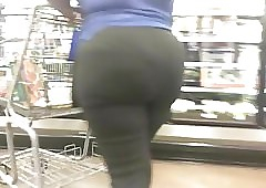 Shopping of exasperation (Sexy BBW VPL)