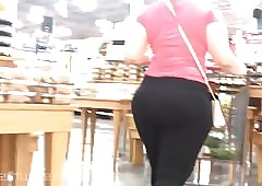 Phat Assed Insensible to Latina plateau Spandex - Busted!