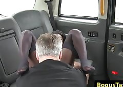Perfidious hansom cab inexpert assfucked together with fingered