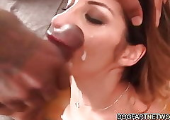 Alice Romain Gets Assrucked Apart from Inky Guys
