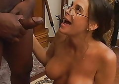 Ill-tempered milf unsportsmanlike renowned jet-black learn of