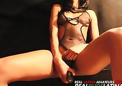 Adriana Malao  plays All round Their way Pussy