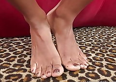 Anya Ivy Has Hooves Prized plus Gives a Unrefined Footjob