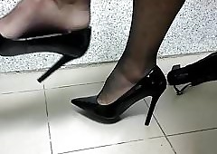 Shoeplay Ebony Heels