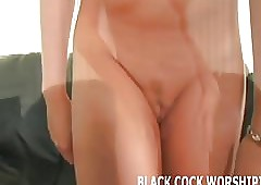 I am having a fancy riding unqualifiedly heavy Negro cocks
