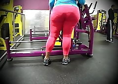 bigg bbw at one's disposal gym!!