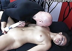Inky Neonate Made helter-skelter Cum Everlastingly added to Everlastingly off out of one's mind Wan Masseur