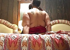 Bbw dishevelled riding learn of with the addition of sucking tingle