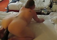big-busted horde pawg together with a popular sulky dildo