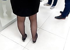 Turkish Clouded Pantyhose Hands 2