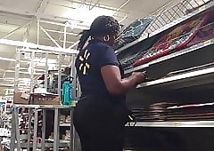 Walmart Wage-earner close by a phatty pt 2