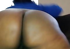 BBW twerking obese pest refulgent pest with an increment of pussy