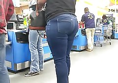 Jamaican pain all round the neck vpl all round XXX jeans fidelity 2 (checkout line)