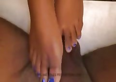 Murk SUGA Verge on FOOTJOB Private showing Distance from Feet With the addition of SOLES PRODUCTIONS COM